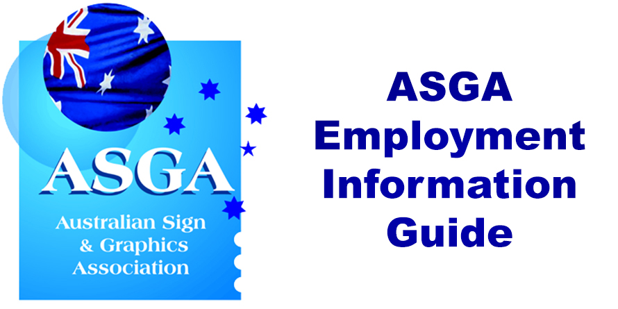 Get your copy of ASGA's updated Employment Information Guide today!