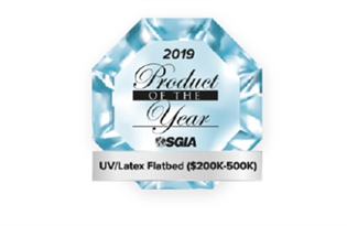 Jeti Mira LED Inkjet Engine wins SGIA Product of the Year Award 2019