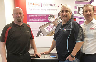 G2PSD appointed authorised distributor for Intel digital printers, foilers and cutters