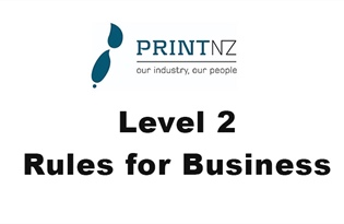 Print NZ outlines 'Level 2 Rules for Business' as industry reopens